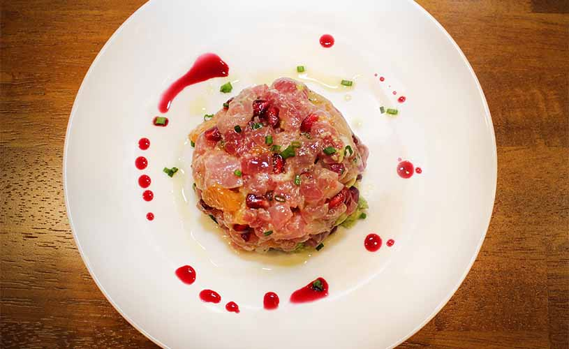 #1 Big Eye Tuna Tartar