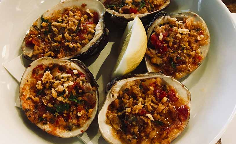 East End Clams Casino