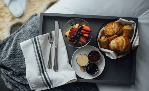 Breakfast Breads and Fruit