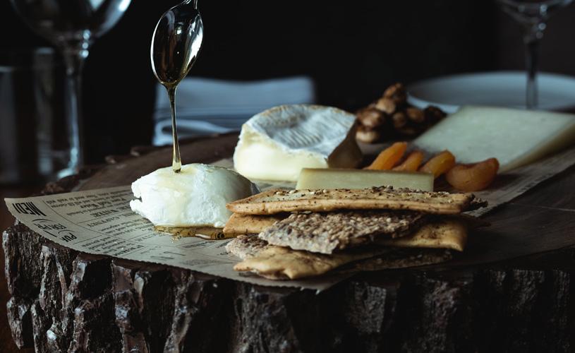 Cheese Board at The Preston House & Hotel