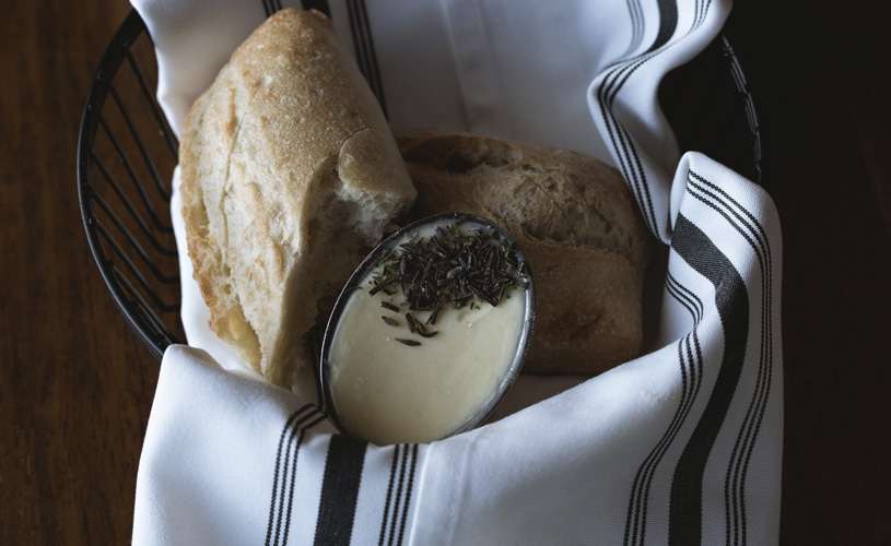 Bread and Butter Basket at The Preston House & Hotel