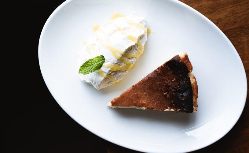 Cheesecake with Organic Meyer Lemon Curd