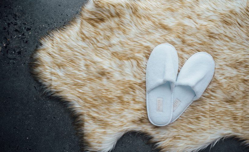 Preston Rug and Slippers